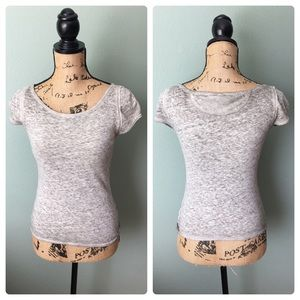 Free People We the Free XS Gray Heather t shirt!